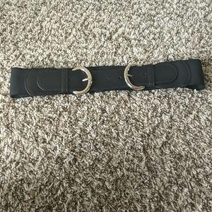 Women's Double Buckle Stretch Belt